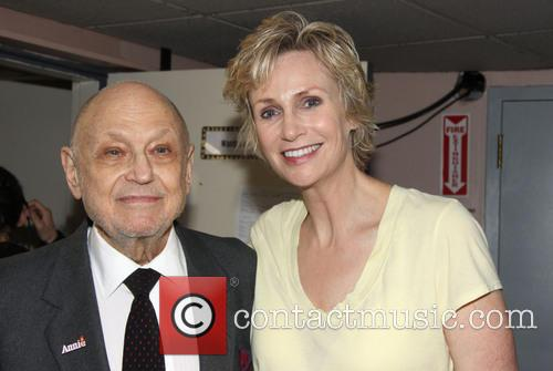 Charles Strouse and Jane Lynch 4