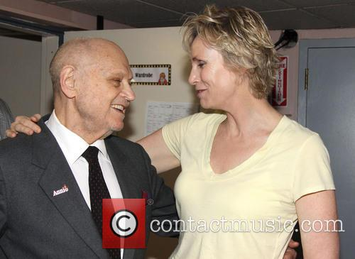 Charles Strouse and Jane Lynch 1