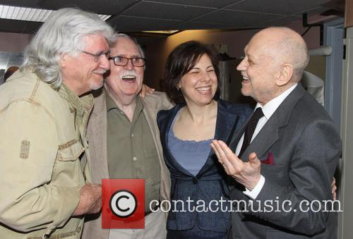 Martin Charnin, Thomas Meehan, Arielle Tepper Madover and Charles Strouse 5