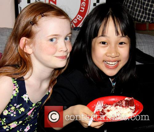 Sadie Sink and Junah Jang 2