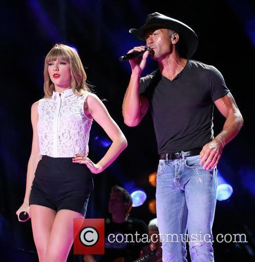 Taylor Swift, Tim McGraw, LP Field