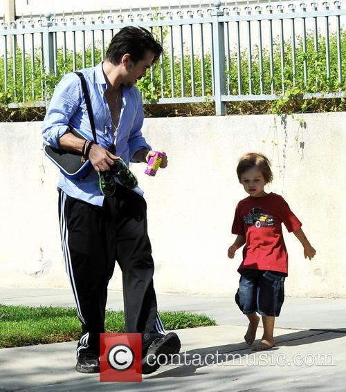 Colin Farrell and Henry 2