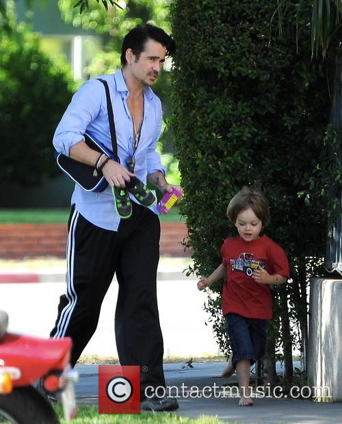 Colin Farrell and Henry 6