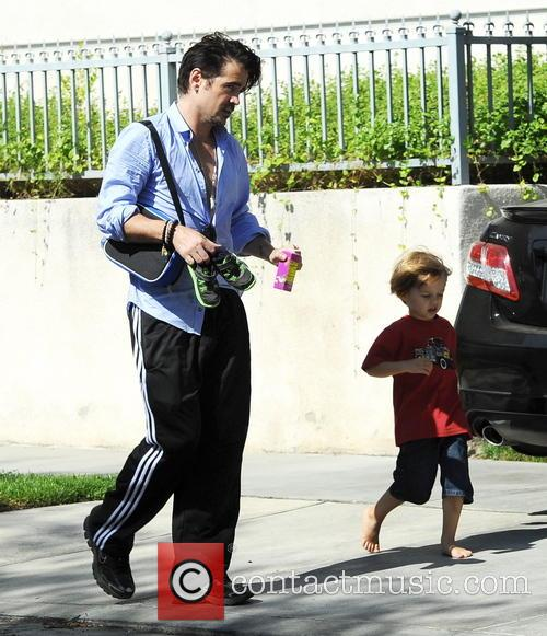 Colin Farrell and Henry 1