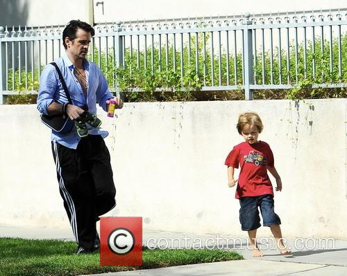 Colin Farrell and Henry 9