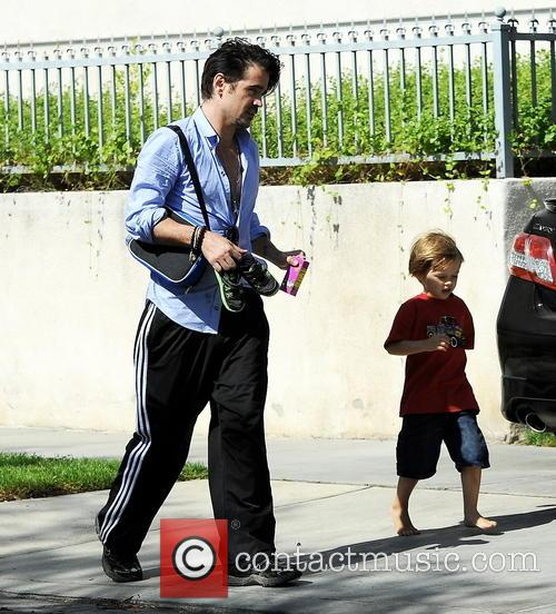 Colin Farrell and Henry 10