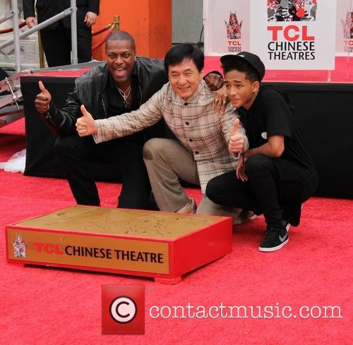 Chris Tucker, Jackie Chan and Jaden Smith 9