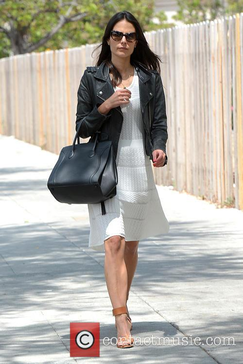 Jordana Brewster out and about