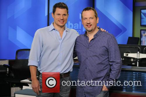 Nick Lachey and Justin Jeffre 8