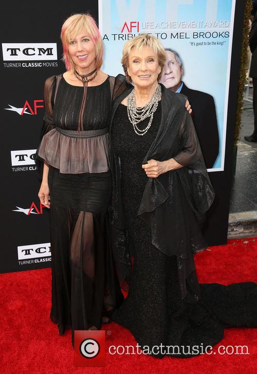 Cloris Leachman and Dinah Englund 2