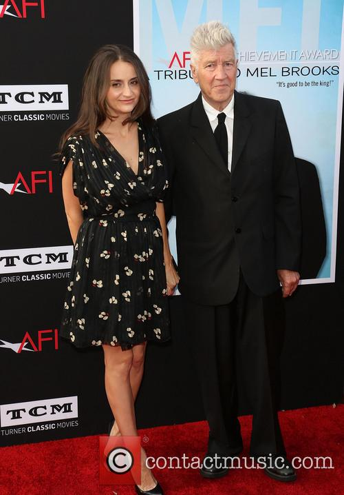 Emily Stofle and David Lynch 1