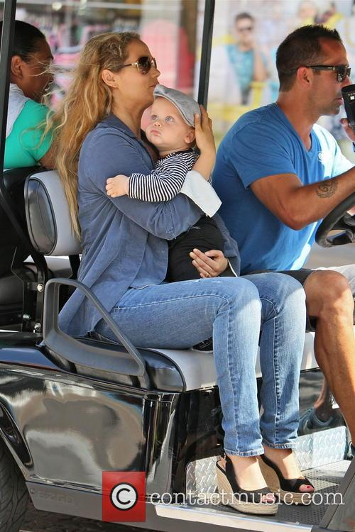 Elizabeth Berkley and Sky Cole Lauren 7