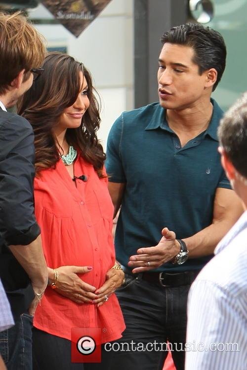 Ken Paves, Courtney Mazza and Mario Lopez 3