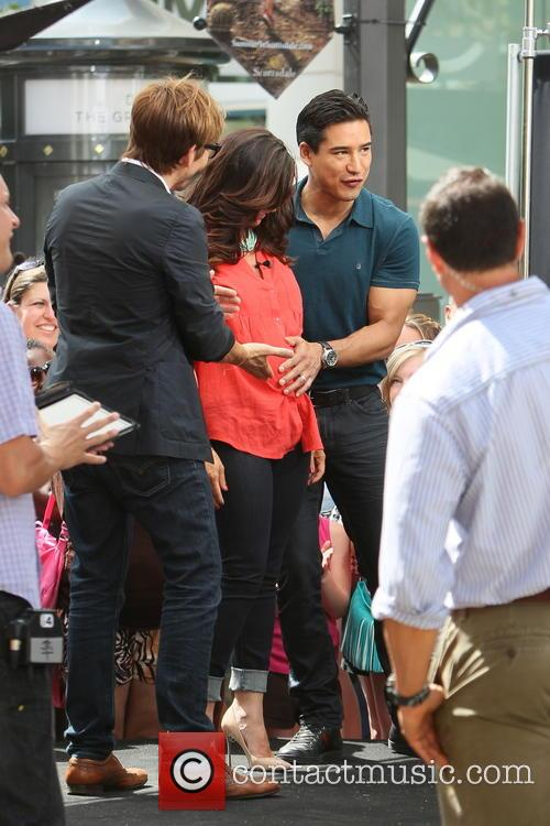 Ken Paves, Courtney Mazza and Mario Lopez 6