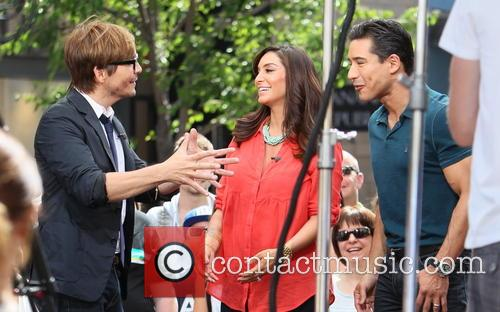 Ken Paves, Courtney Mazza and Mario Lopez 9