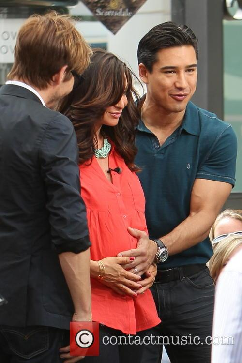 Ken Paves, Courtney Mazza and Mario Lopez 12