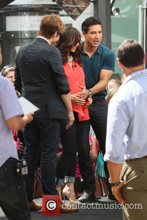 Ken Paves, Courtney Mazza and Mario Lopez 14