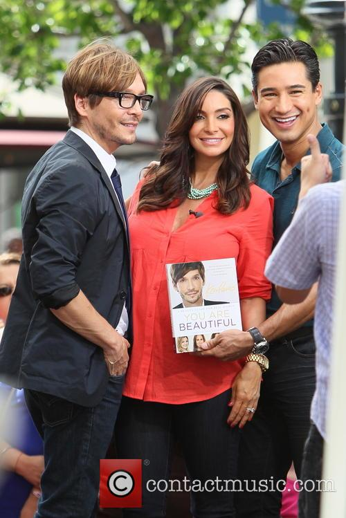 Ken Paves, Courtney Mazza and Mario Lopez 15