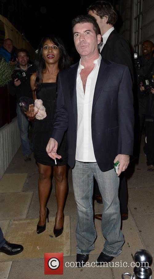 Sinitta and Simon Cowell 3