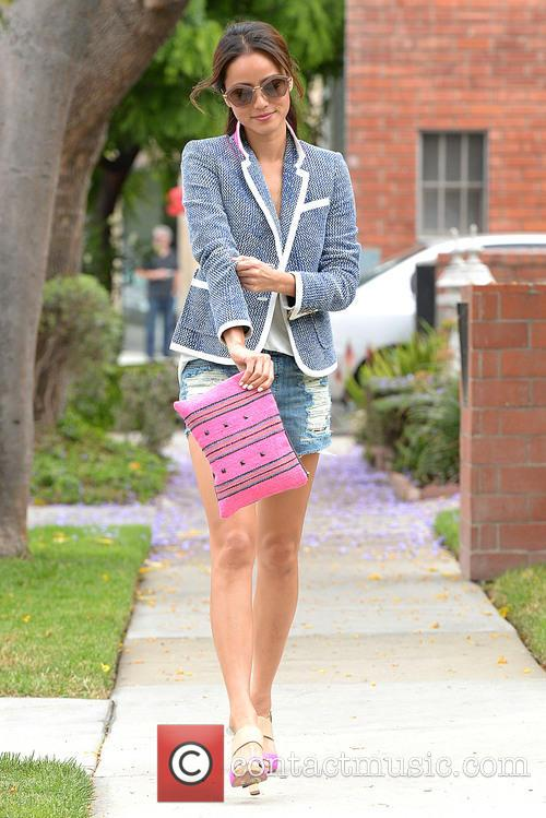 Jamie Chung out shopping on Melrose