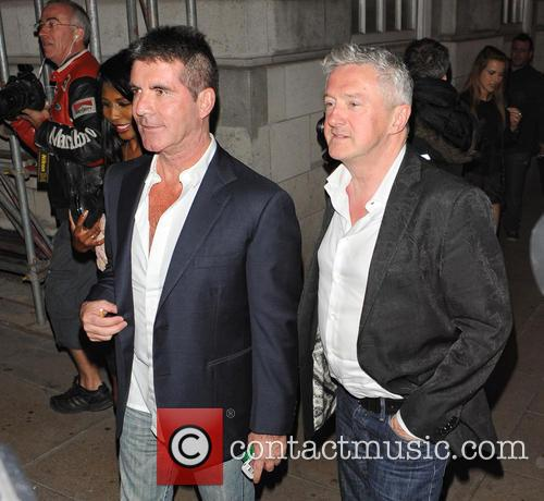 Simon Cowell and Louis Walsh 3
