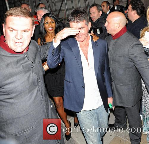 Simon Cowell and Sinitta 4