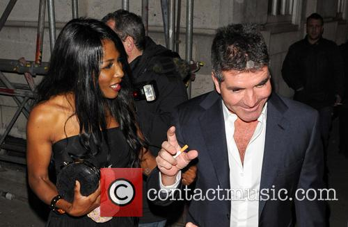 Simon Cowell and Sinitta 10