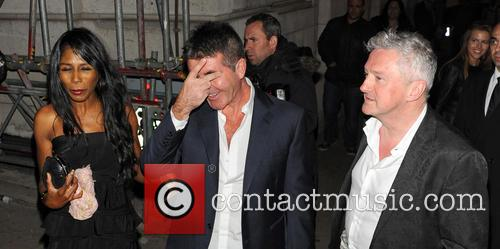 Simon Cowell, Sinitta and Louis Walsh 5