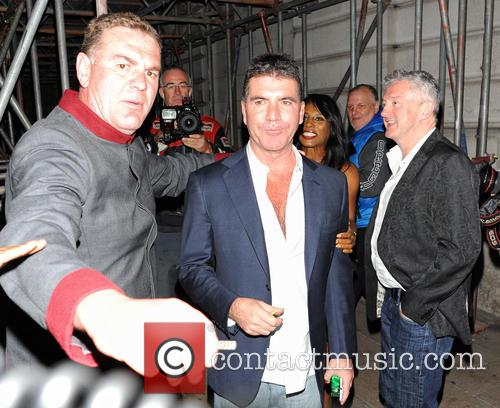 Simon Cowell, Sinitta and Louis Walsh 8