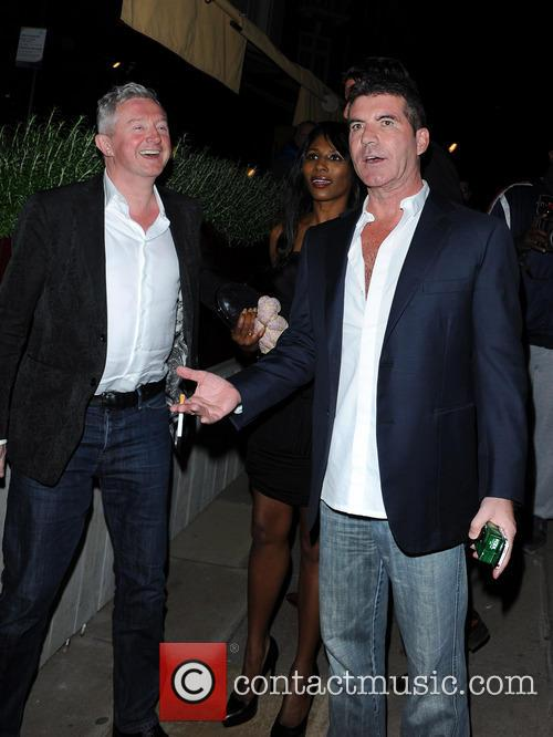 simon cowell louis walsh celebrities leave loulous 3707763