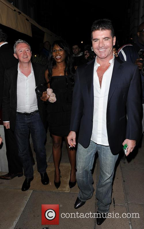simon cowell louis walsh sinitta celebrities leave loulous 3707761