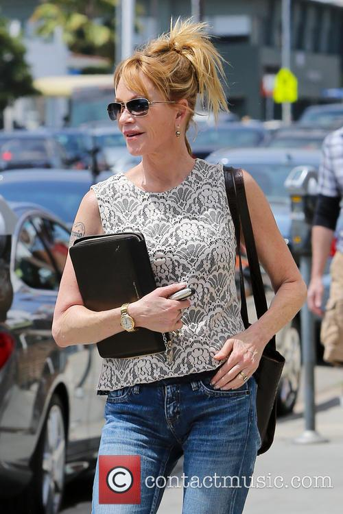 Melanie Griffith lunch with friends