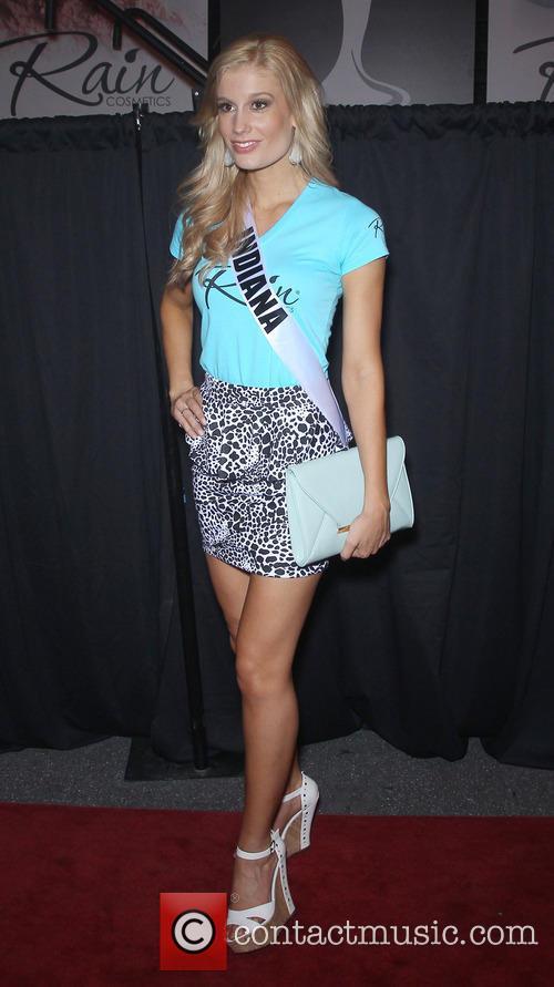 Miss Indiana USA, Emily Hart, The D Las Vegas on Fremont Street