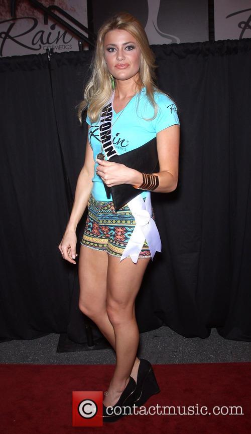 Miss Wyoming USA, Courtney Gifford, The D Las Vegas on Fremont Street