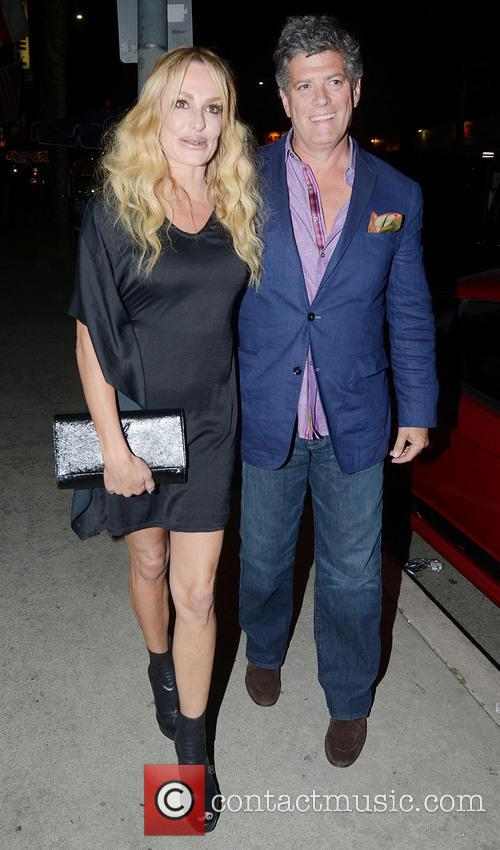 Taylor Armstrong and her boyfriend John Buhler go...