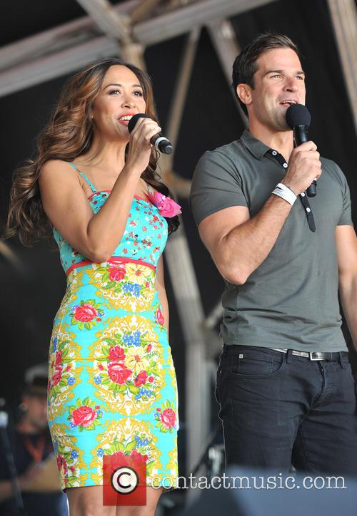 Gethin Jones and Myleene Klass 2