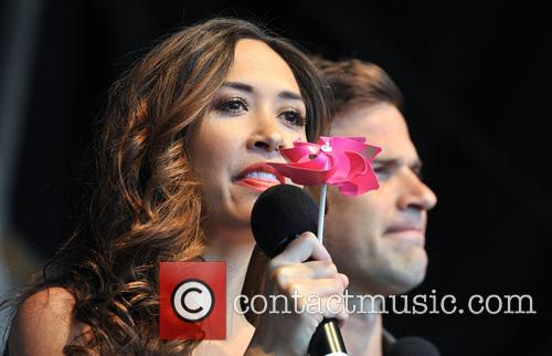 Gethin Jones and Myleene Klass 3