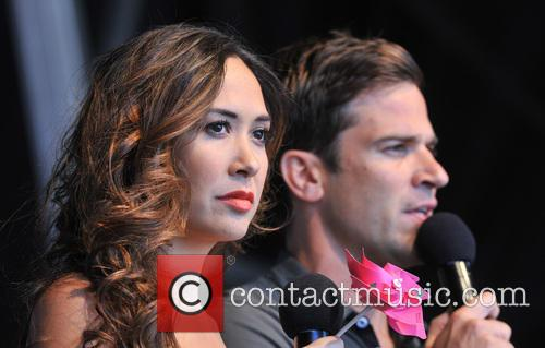 Gethin Jones and Myleene Klass 1