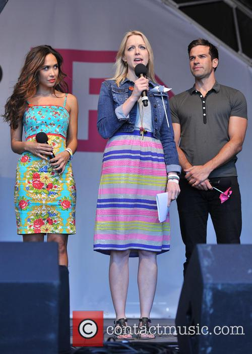 Gethin Jones, Myleene Klass and Lauren Laverne 5