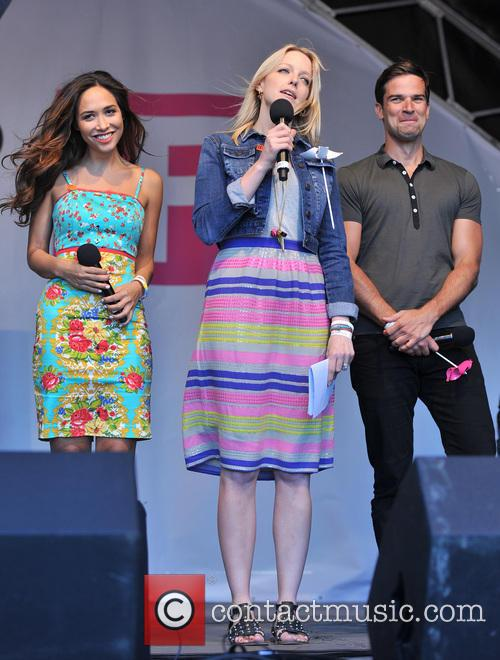 Gethin Jones, Myleene Klass and Lauren Laverne 6