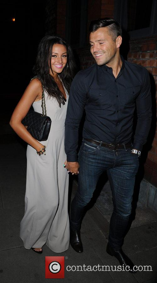 Michelle Keegan and Mark Wright 8