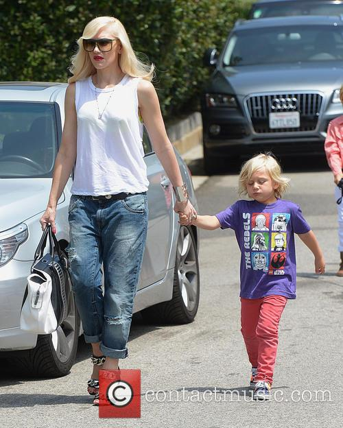 Gwen Stefani and Zuma Rossdale 9