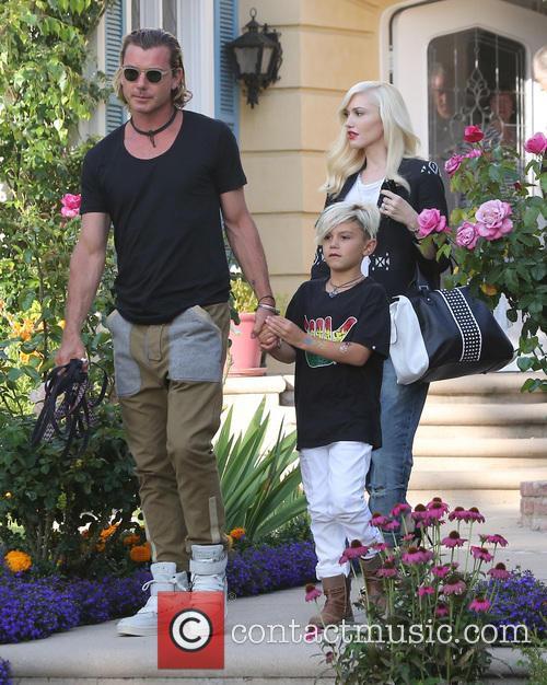 Gwen Stefani, Gavin Rossdale and Kingston Rossdale 4