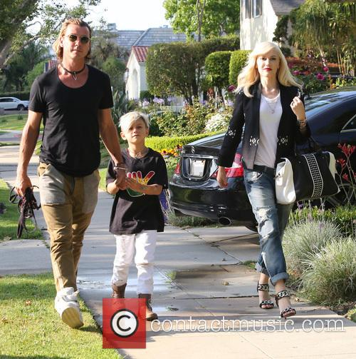 Gwen Stefani, Gavin Rossdale and Kingston Rossdale 1