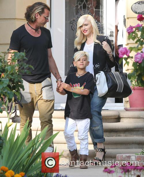Gwen Stefani, Gavin Rossdale and Kingston 1