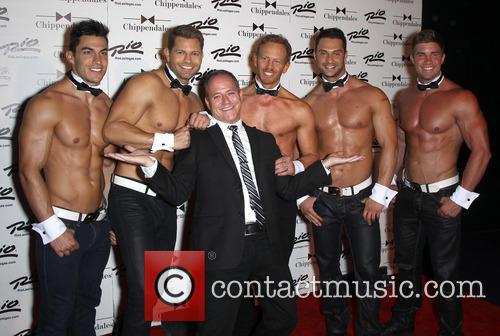 Ian Ziering debuts with Chippendales Las Vegas