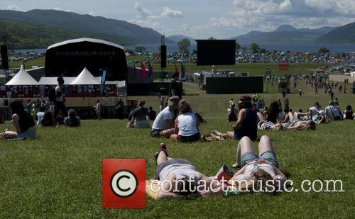 Rockness Festival in Inverness - Atmosphere- Day 2