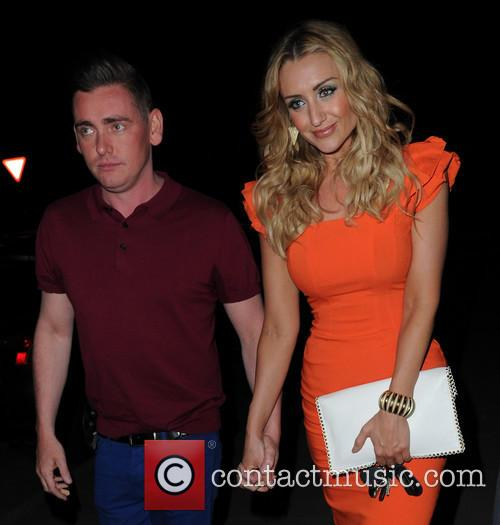 catherine tyldesley celebrities leaving brooke vincents 21st 3710052