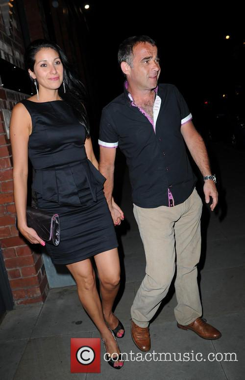 Michael Le Vell and Blanca Fouche 1