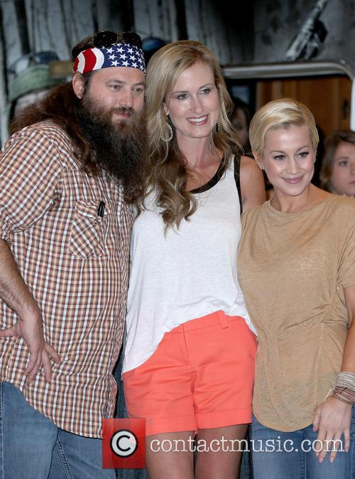 Willie Robertson, Korie Robertson and Kellie Pickler 2